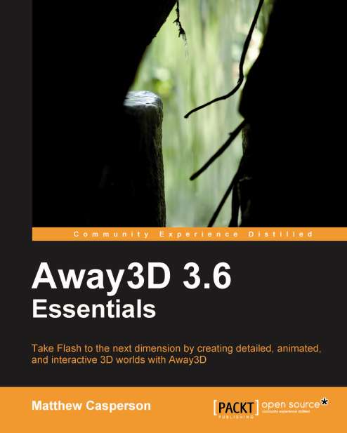 New Book: Away3D 3.6 Essentials
